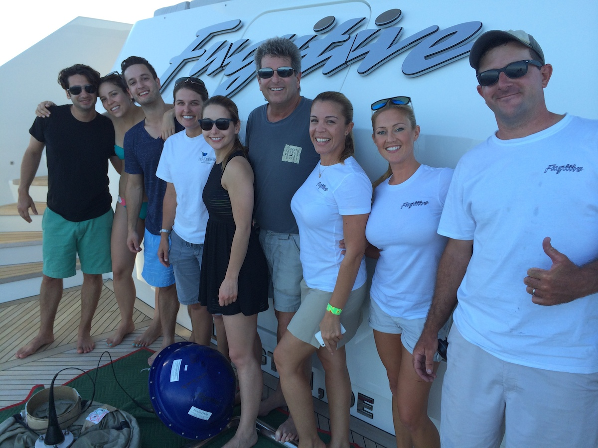 Fugitive owners, guests and crew are ready to deploy their first drifter!